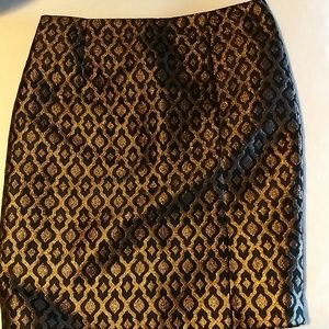 The Limited brocade skirt size 8